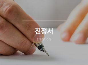 문제의 해결을 위하여 사정을 진술하는 문서, 진정서