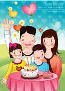 가족과의 생일파티