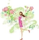 봄의 여인1