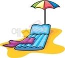 파라솔,해변,휴양지,