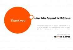 호텔 객실 체계적 판매 대행 제안 - 회사소개서 홍보자료 #12