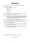 부동산증여계약서(간단양식)