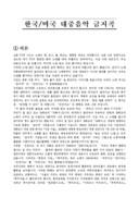 한국 대중음악 금지곡 조사보고서