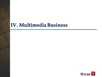 [미래산업] 해외 기업설명회 IR 자료 - 사업계획서