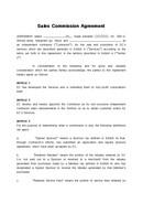 (영문) 서비스 판매수수료 계약서(Sales Commission Agreement)