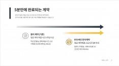 간편 전자계약 모두싸인 서비스소개서 - 회사소개서 홍보자료 #4