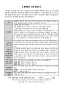 입사지원서 양식(재단법인 국악방송)
