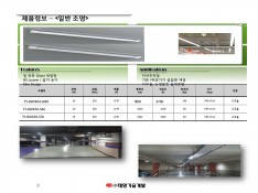 LED 전문 생산 기업 태양기술개발 제품소개서 - 회사소개서 홍보자료 #8