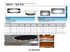 LED 전문 생산 기업 태양기술개발 제품소개서 - 회사소개서 홍보자료 #9