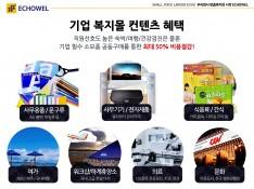 중소기업 맞춤 복지몰 (주)에코웰 서비스 제안서 - 회사소개서 홍보자료 #10