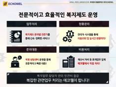중소기업 맞춤 복지몰 (주)에코웰 서비스 제안서 - 회사소개서 홍보자료 #11
