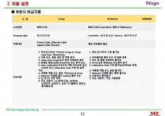 열화상 모니터링 화재 예방 시스템 제안서 - 회사소개서 홍보자료 #12