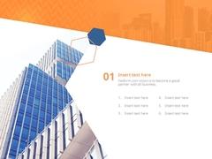 가로형 애니_ 비즈니스 사무실 빌딩(파워포인트>애니메이션 템플릿) - 예스폼 쇼핑몰