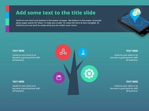 지하철 어플리케이션(IT) Powerpoint Templates