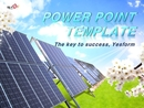 태양열 에너지(산업,기술) 배경 피피티 템플릿