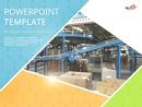 물류 센터 PPT 배경템플릿 (4:3)