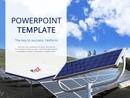 태양광 패널 (환경,기술) PPT 배경