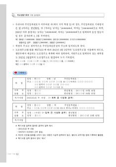 학교생활 기록부 기재 길라잡이(중ㆍ고등학교) #12