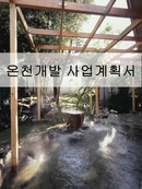 온천 사업계획서 (hot springs business plan, 溫泉 事業計劃書)