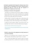 마케팅 관련 보고서 (영문)