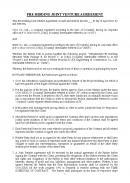 (영문)공동도급용 입찰합의서(PRE-BIDDING JOINT VENTURE AGREEMENT)