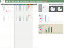 상품별 주문관리 현황Order Status Create An Account Management