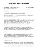(영문) 매출처 수수료 계약서(Sales Lead/Finders Fee Agreement)