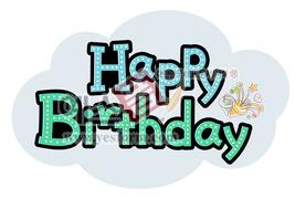 섬네일: 생일축하(happybirthday) - 손글씨 > POP > 축하/감사