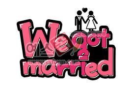 섬네일: we got married - 손글씨 > POP > 웨딩축하