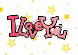 섬네일: iloveyou(별) - 손글씨 > POP > 웨딩축하