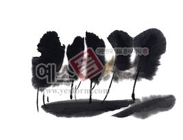 섬네일: 나무1 - 손글씨 > 캘리그래피 > 붓터치