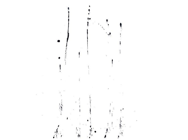 방울뿌림번짐100