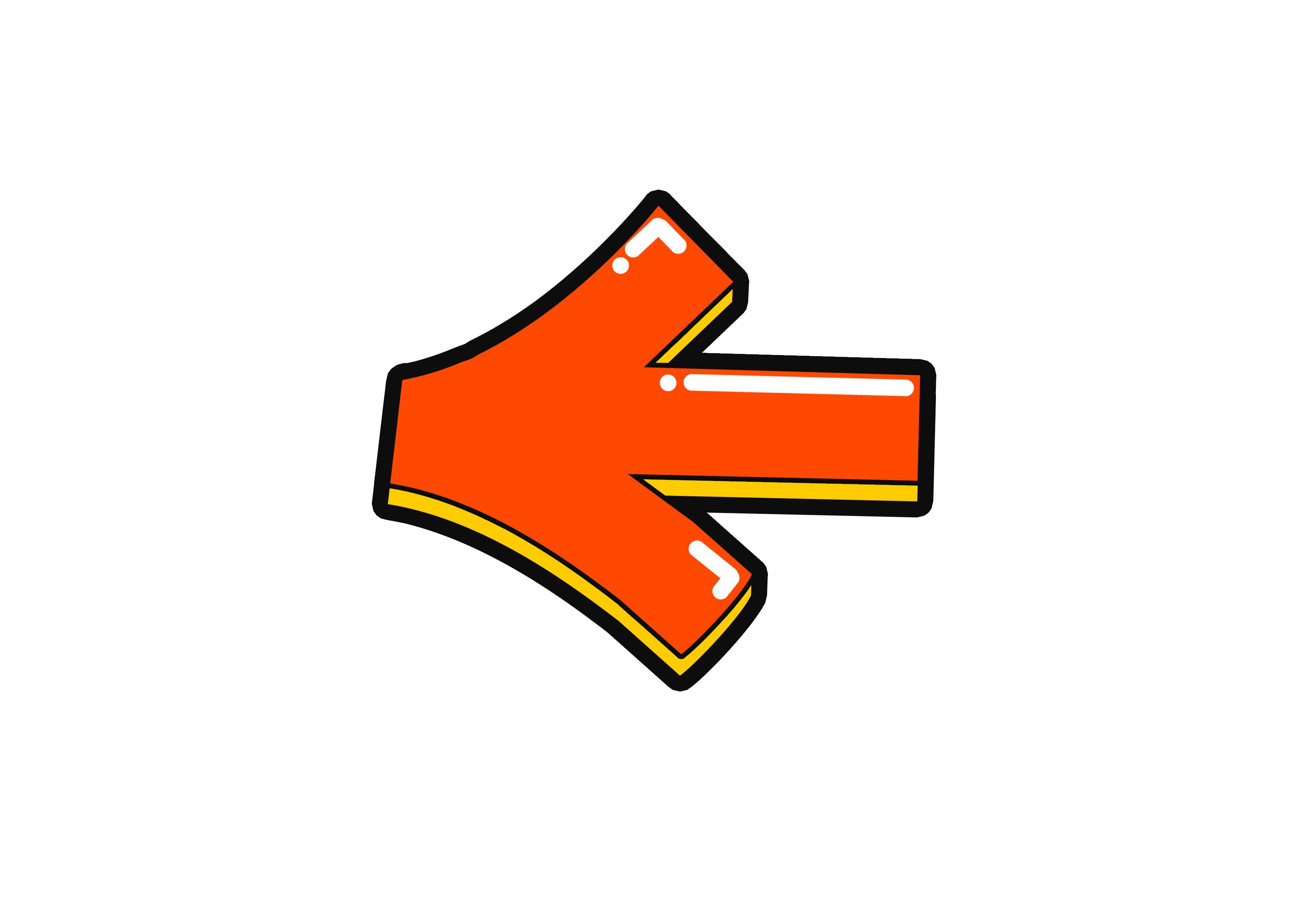 화살표(기호,방향,왼쪽)