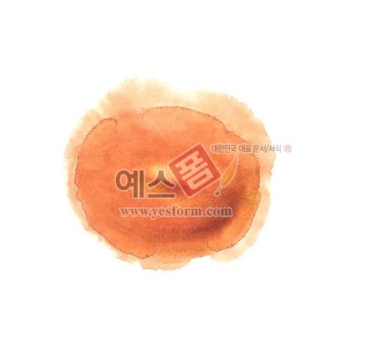 미리보기: 칼라번짐72 - 손글씨 > 캘리그래피 > 붓터치