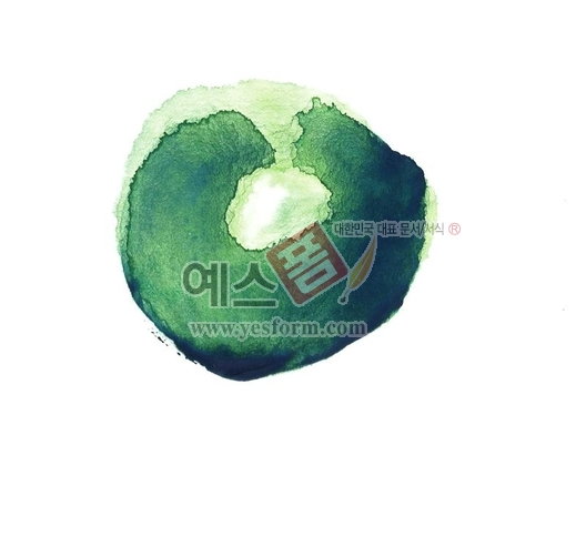 미리보기: 칼라번짐96 - 손글씨 > 캘리그래피 > 붓터치