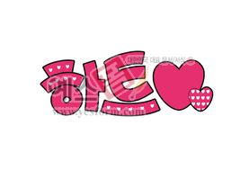 섬네일: 하트(기호,heart,사랑) - 손글씨 > POP > 단어/낱말