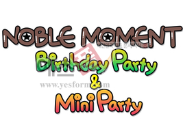 섬네일: Noble Moment, Birthday party, & Mini Party - 손글씨 > POP > 기타