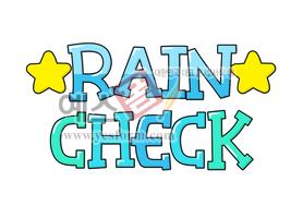 섬네일: RAIN CHECK(티켓,교환권) - 손글씨 > POP > 기타