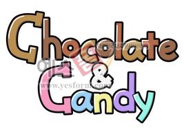 섬네일: Chocolate & Candy(초컬릿,사탕,캔디) - 손글씨 > POP > 음식점/카페