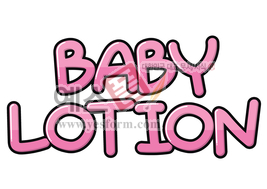 섬네일: BABY LOTION - 손글씨 > POP > 단어/낱말
