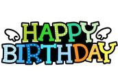 HAPPY BIRTHDAY(생일축하해)