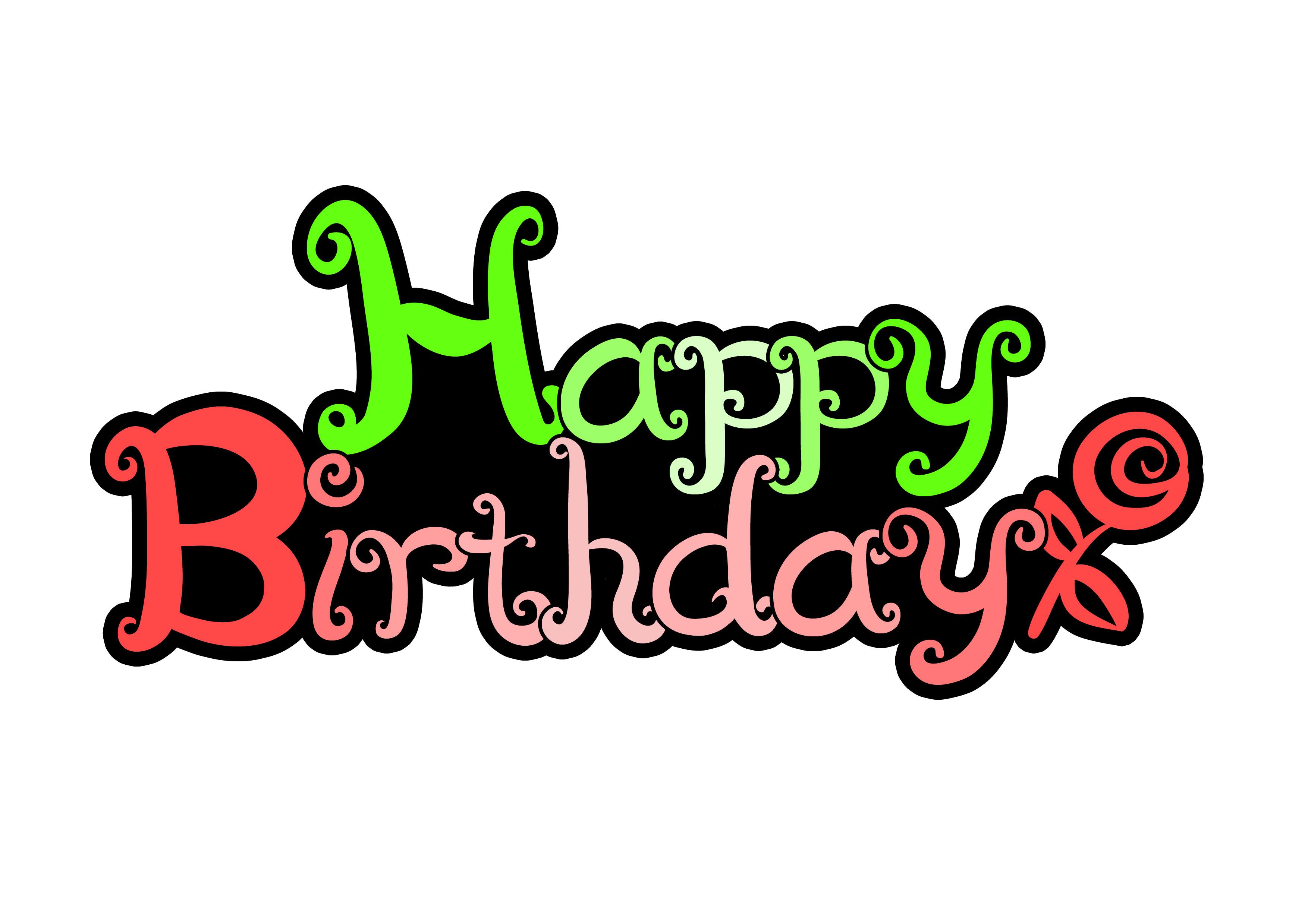 Happy Birthday ! (생일축하, 인사말, 생일파티)