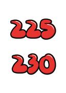 225 230(신발사이즈)