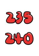 235 240(신발,사이즈)