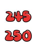 245 250(신발,사이즈)