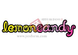 섬네일: lemoncandy - 손글씨 > POP > 기타