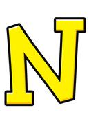 N(영문,철자,알파벳)