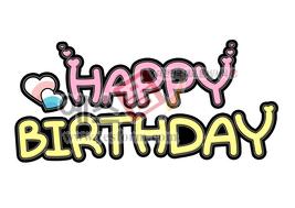 섬네일: happy birth day - 손글씨 > POP > 축하/감사