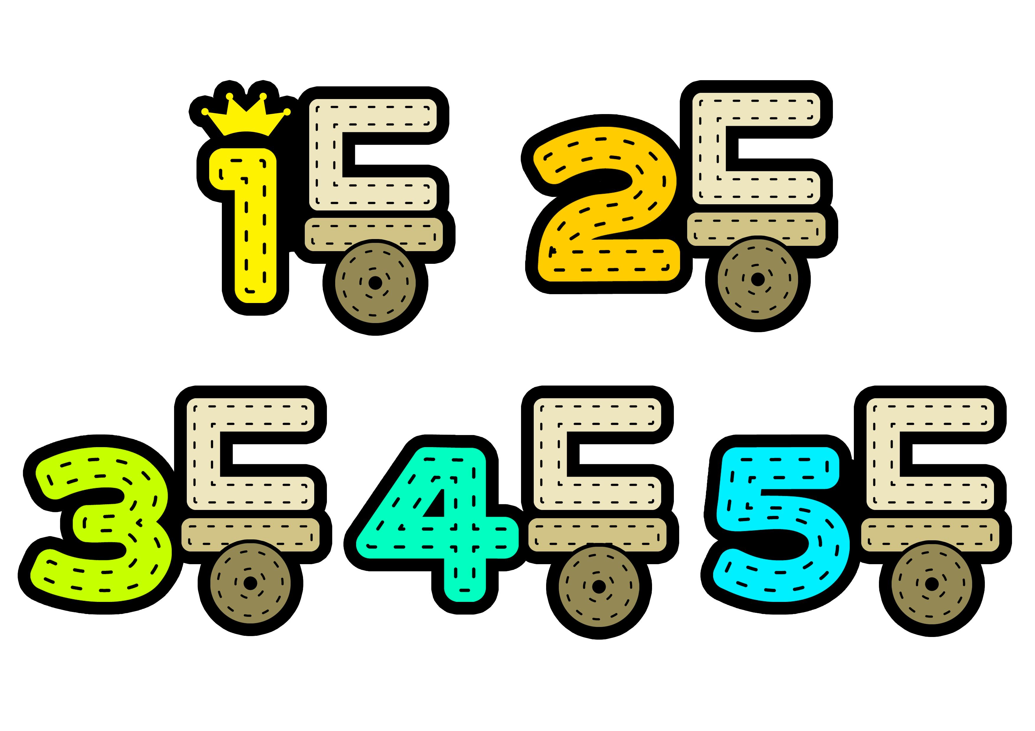 1등,2등,3등,4등,5등 (등수,순위,우승자)