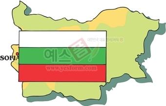 지도,소피아,불가리아수도,불가리아국기,국가